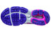 Mizuno W's Wave Rider 19 Running Shoes Fuchsia Purple/Silver/Royal Purple
